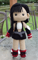 Final Fantasy VII | Tifa Lockhart doll by featheredshaft
