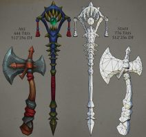 Weapons 01 by FirstKeeper