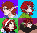 Various Vaughns by soppendeuff