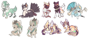 [TRADE] lumephobia Chibi Batch by shoucchin