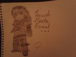 Jacob meets Ezreal by Sweet-Ex
