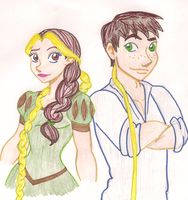 The Tangled Twins by thatnaminegirl