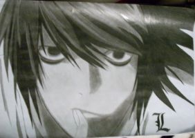 L Death Note by elisar23