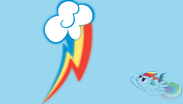 Rainbow dash wallpaper by demondave999