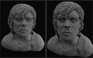 Sculpture Of Tyrion Lannister From Game Of Thrones by NJSFX