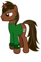 Prince Luigii Pony by Names-Tailz