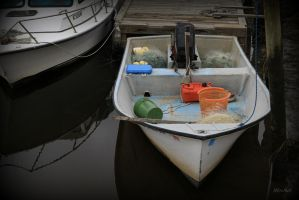 Calabach Fishing  Boat by Doumanis