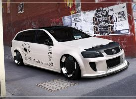 Holden VE Commodore Sportwagon by wallla