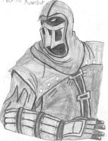 Noob Saibot Sketch by MorriganXWarden