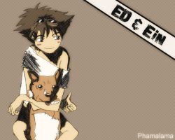 Ed and Ein by kpossibles