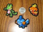 Pokemon Sprite Stitches - Hoenn Starters by UWorlds