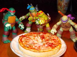 breakfest pizza by TMNTFAN85