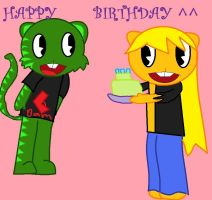 -gift- happy b-day by 222222555555