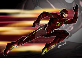 The Flash by ADL-art