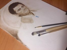 Kastiel (in the process) by Galinaxsim