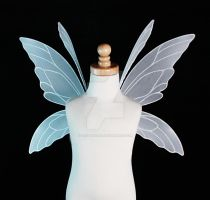 Lily Fairy Wings in White - Front by glittrrgrrl