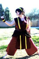 Toph PS: Earthbender by SuperSilkie