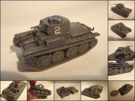 Panzer 38t by WormWoodTheStar