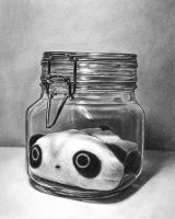 Tare Panda in a Jar by JessicaEdwards