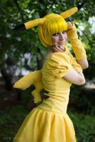 Real life Pikachu by AshtrayheartRomina