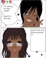 My manga: Jo x C.J. Love story by TheblueQueen16