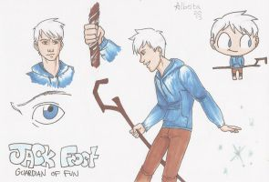 Jack Frost SKETCHDUMP by AlbertaFrost