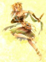 Desert Dance by Ecthelian