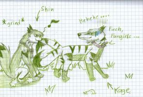 Shin is one of Kages Fangirls [Green] by HellsingDragoness