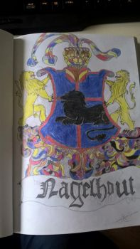 self made coat of arms by ReinNt