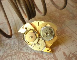 Clockwork Brooch by rowan300
