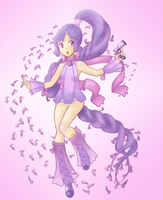 Magical Girl Jacaranda by Frills-Of-Justice
