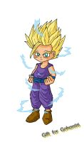 Gift for Gohan96 by KZ-3