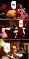 Umineko Chiru Cosplay: There Are 17 People by Redustrial-Ruin