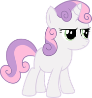 Sweetie Belle is not amused by CrimsonLynx97
