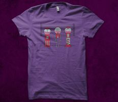 Gumball Line up T-shirt Design by alsnow