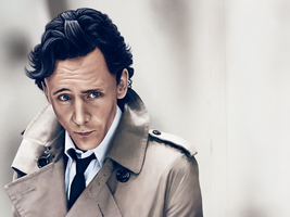 Tom Hiddleston by swisidniak