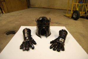 Dark knight plate armor 2 by Viljo90