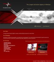 CP Website Homepage by kashghan