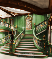 The Green Staircase by TLK4EVR