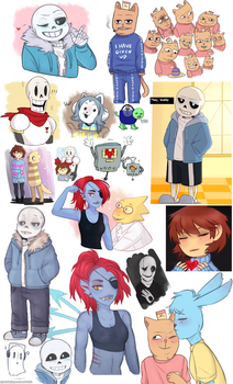 Undertale Dump by Zoiekiwi