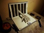 3D Drawing - Old work by NAGAIHIDEYUKI