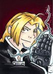 Edward Elric the Fullmetal Alchemist by hollyann