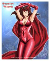 SCARLET WITCH by IDarkShadowI
