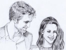 Rob and Kristen by sourcherry1
