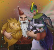 Happy New Year! (The Big Four) by Ski-Machine