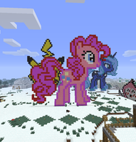 Minecraft Pinkie Pie by ijustloveit619
