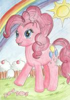 Pinkie Pie in The Land of Happiness by CandySkitty