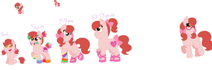 WIP: Look what auntie Toola did with my mane! 8D by Strawberry-Spritz