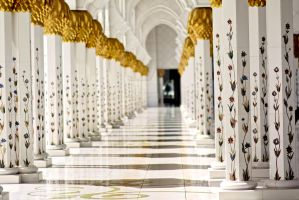 Grand Mosque, Abu Dhabi III by Pic-Prodigy