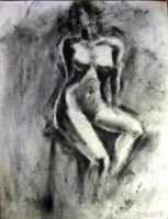 Figure Drawing - 2 by b-araujo